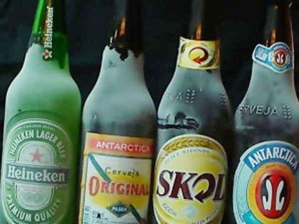 Cerveja gelada PRA CARAMBA!!